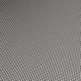 Chrome steel mesh weave Stock Photography