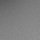 Chrome steel mesh weave Stock Photography