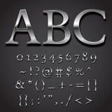 Chrome stilsort vektor illustrationer