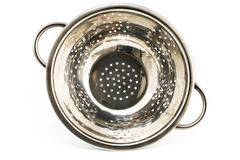 Chrome strainer Stock Images