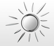 Chrome Sun Is Shining Royalty Free Stock Photos