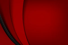 Chrome svart och mörker - röd overlape- och skuggabeståndsdelbakgrund royaltyfri illustrationer