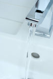 Chrome tap water Royalty Free Stock Images