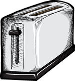 Chrome Toaster Stock Photography