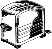 Chrome Toaster Stock Photo