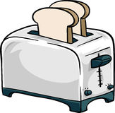 Chrome Toaster Royalty Free Stock Photo