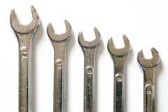 Chrome tools set Royalty Free Stock Photos