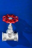 Chrome valve Royalty Free Stock Photo