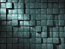 Chrome Wall Background Royalty Free Stock Photos