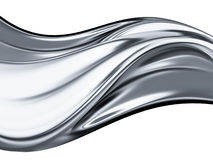 Chrome wave Stock Photography