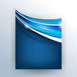 Chrome wave concept background Royalty Free Stock Photo