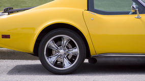 Chrome wheel Royalty Free Stock Image