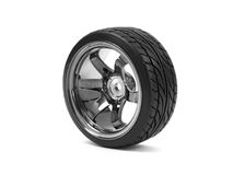 Chrome Wheels royalty free stock images