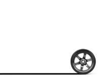 Chrome Wheels Stock Photography