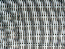 Chrome wicker. Texture for background Stock Image