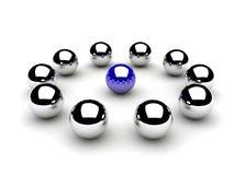 Chromeballs Imagenes de archivo
