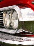 Chromed Headlights royalty free stock photography