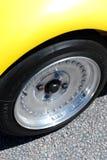 chromed hjul Arkivfoton