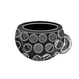 Chromed mug Royalty Free Stock Image
