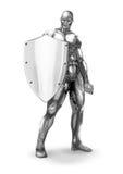Chromeman_Protector Stock Image