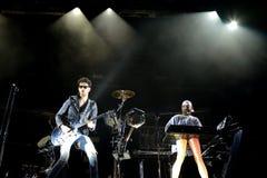 Chromeo Canadian electro-funk duo performs at Heineken Primavera Sound 2014 Royalty Free Stock Photography