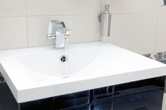 Chromium-plate tap Royalty Free Stock Image