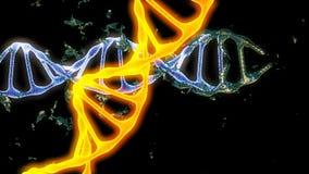 chromosom 3d übertragen lizenzfreie abbildung