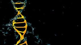 chromosome 3d rendem ilustração royalty free
