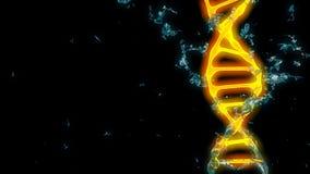 chromosome 3d rendem ilustração stock