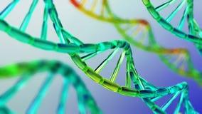 Chromosome, DNA. Scientific background, beautiful blur stock photo