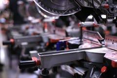 chromowani narzędzi przemysłowych samochodów Fotografia Royalty Free