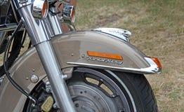 Chromteile Harley Davidson Lizenzfreies Stockfoto