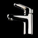 Chromu faucet Fotografia Stock