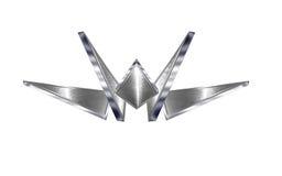chromu projekta metal Obraz Royalty Free