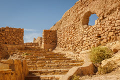 Chroniąca część forteca Ait Ben Haddou Zdjęcia Stock