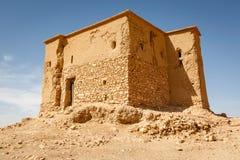 Chroniąca część forteca Ait Ben Haddou Zdjęcia Royalty Free