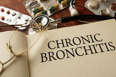 Chronic bronchitis Royalty Free Stock Photography