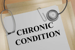 Chronic Condition - medical concept Stock Photography