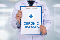 CHRONIC DISEASES Royalty Free Stock Photo