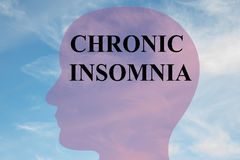 Chronic Insomnia concept Royalty Free Stock Photography