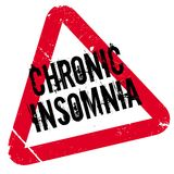 Chronic Insomnia rubber stamp Stock Photo