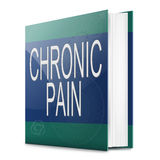 Chronic pain concept. Stock Image
