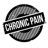Chronic Pain rubber stamp Royalty Free Stock Photo