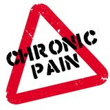 Chronic Pain rubber stamp Stock Photos
