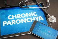 Chronic paronchya (cutaneous disease) diagnosis medical concept Stock Photography