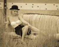 Chronicles de divan Photographie stock