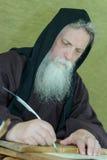 Chroniqueur de moine Photo libre de droits