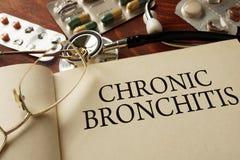 Chronische bronchitis royalty-vrije stock fotografie