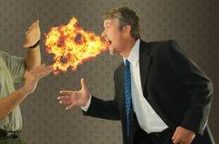Chronische Mundgeruchstimmung des Mundgeruchs Lizenzfreies Stockfoto