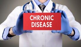 Chronische ziekte royalty-vrije stock fotografie